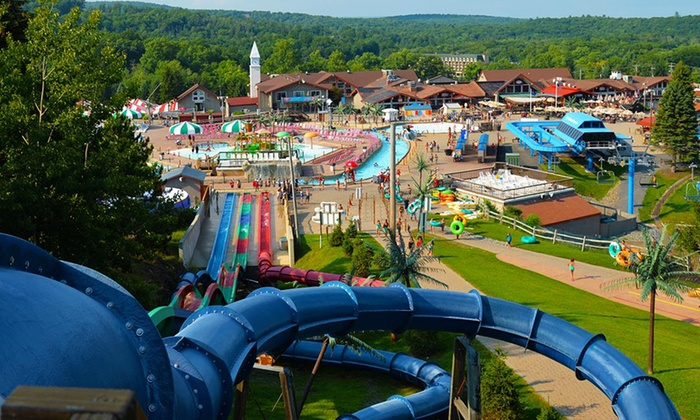 Waterpark, people, lazy river, swim, slides, Pennsylvania