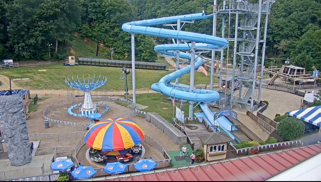park, amusement, mountain, kids, vacation, Tennessee, slide